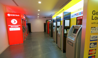 Singapore Bank ATMs