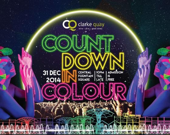 Clark Quay Countdown 2014