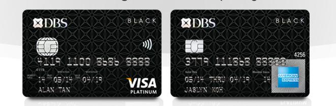 DBS Black VISA/AMEX