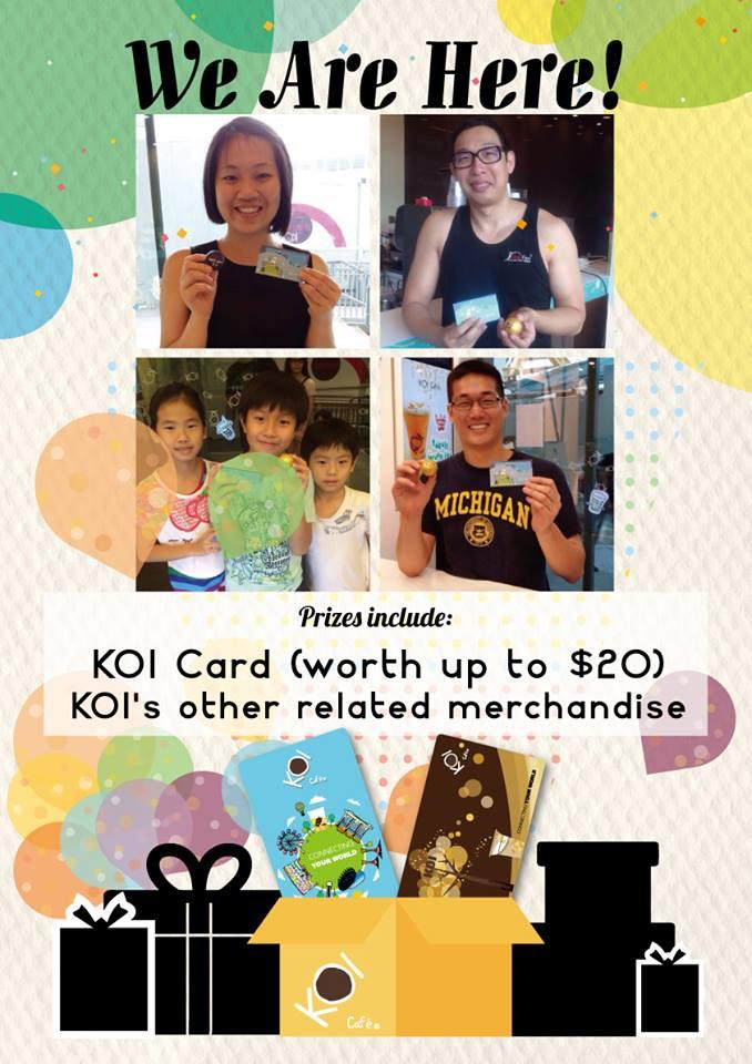 Koi Promotion 311214