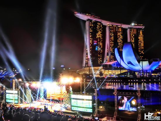 Marina Bay The Float Countdown