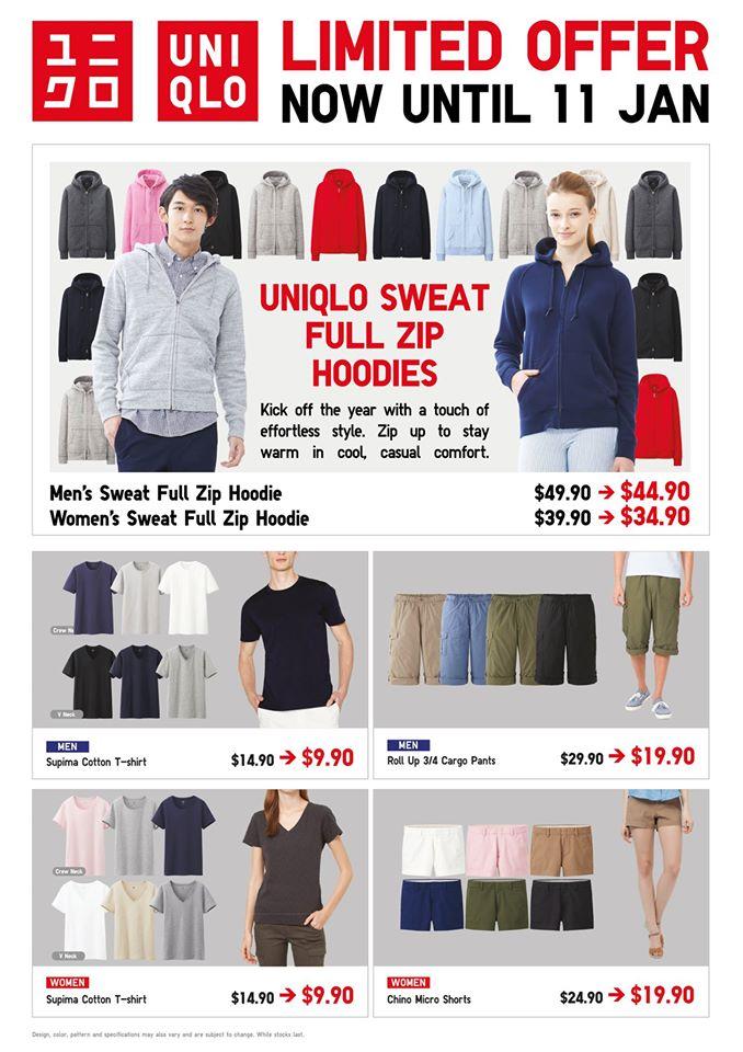 Uniqlo Promotion 100115