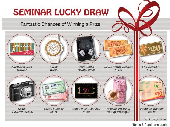 Seminar Lucky Draw