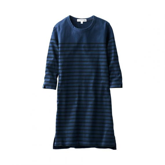 Image Credits: www.uniqlo.com/sg/store/women-idlf-striped-34-sleeve-dress-1444030005.htm