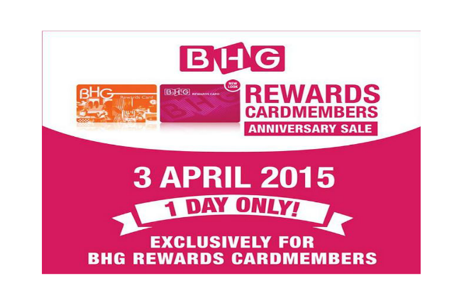 Bhg Rewards Cardmembers Anniversary Sale 30 Off 1 Day