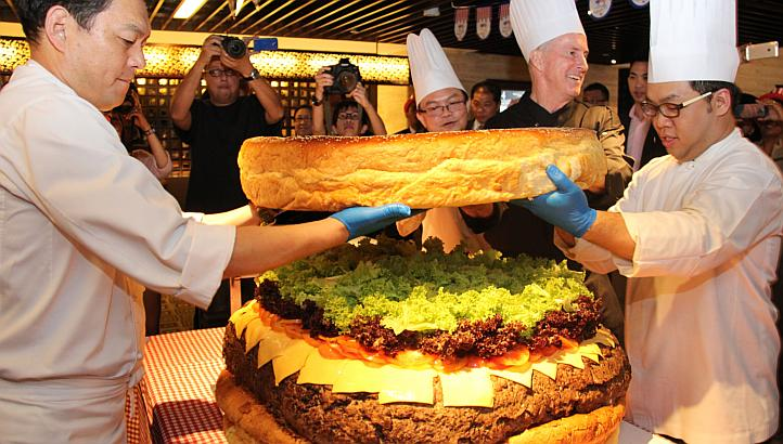 Largest Burger Singapore