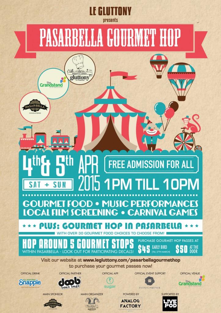Gourmet Hop Poster