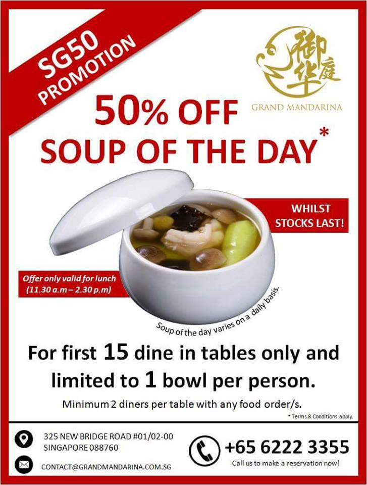 Grand Mandarina Soup