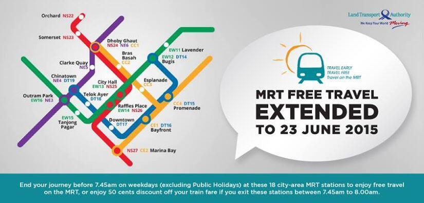 MRT Free Travel