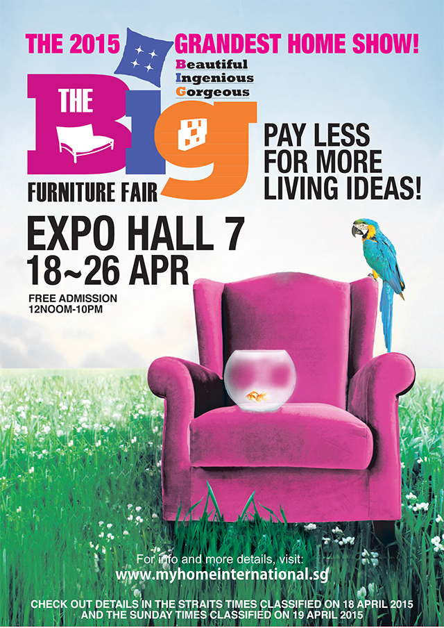 The Big Furniture Fair Banner