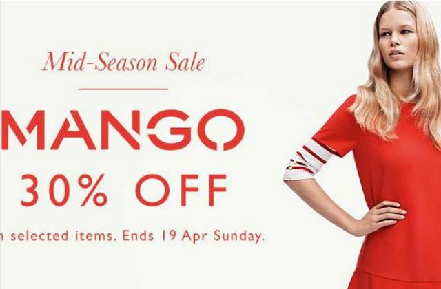 6963c6d5af Zalora  30% Off Mango Mid Season Sale (12 - 19 Apr 2015 ...