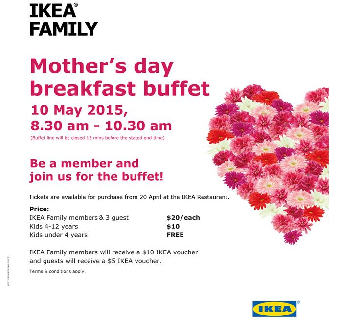 Ikea Mother Day Breakfast