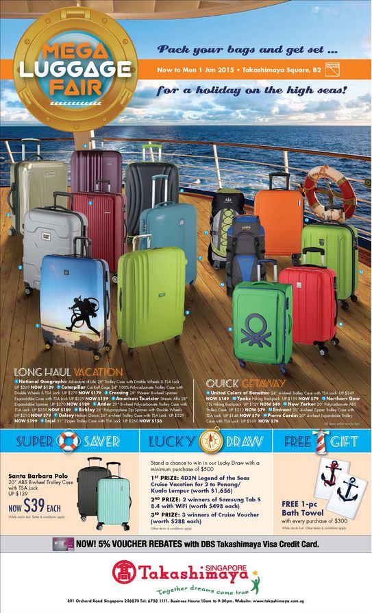 Mega Luggage Fair Ad