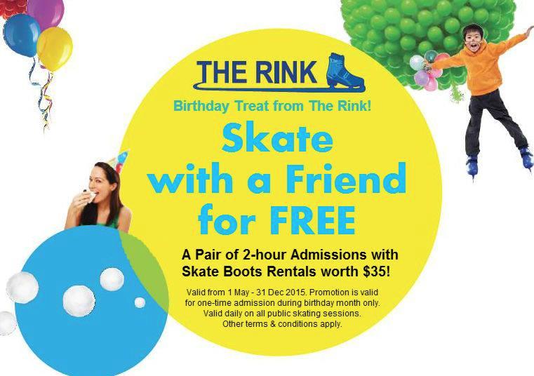The Rink Birthday