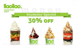 llaollao student pricing