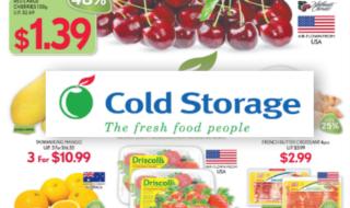 Cold Storage Promo 050715