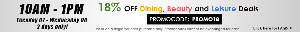 Groupon 3 hour sale 8 July 2015