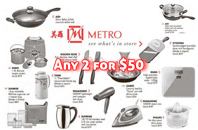 Metro Any 2 for 50