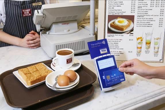 Visa PayWave Toast Box