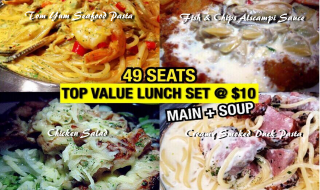 49 Seats Value Lunch Set