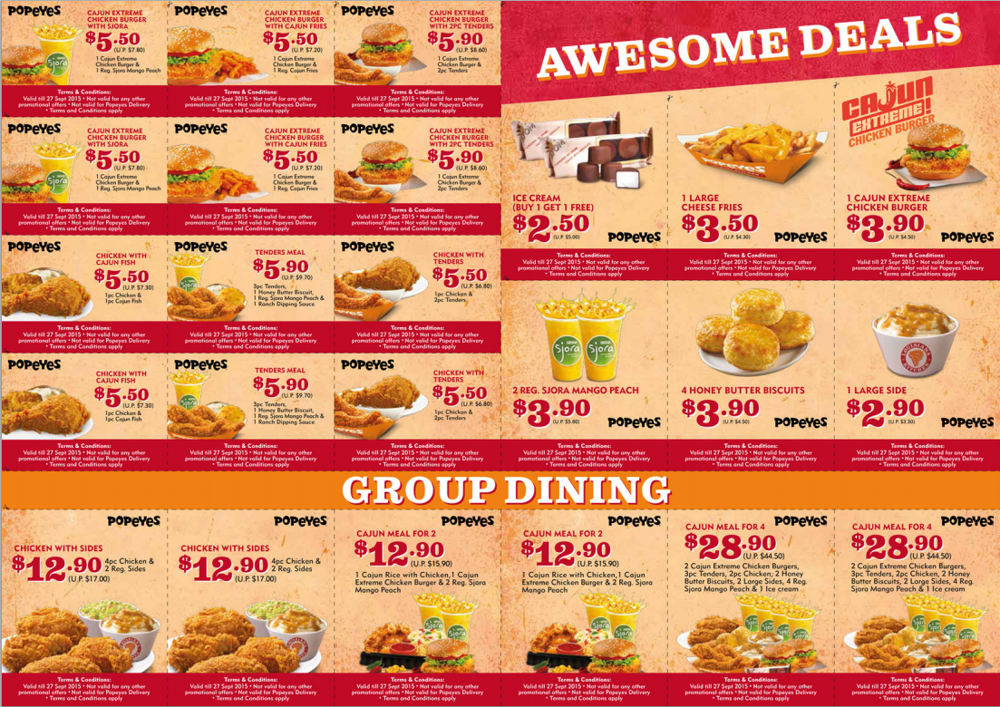 Popeyes Coupon Deals