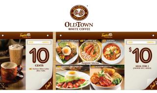 OldTown Promo September