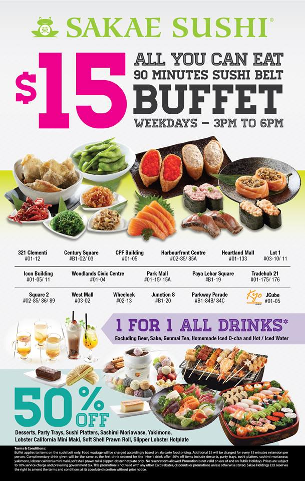 $15 Sakae Buffet
