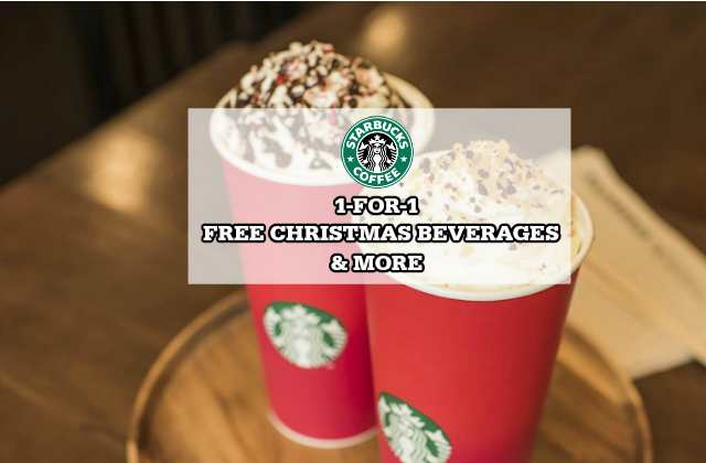 Starbucks for free christmas drink more nov