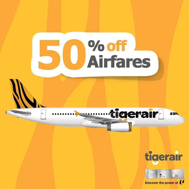 Tigerair Promo 50