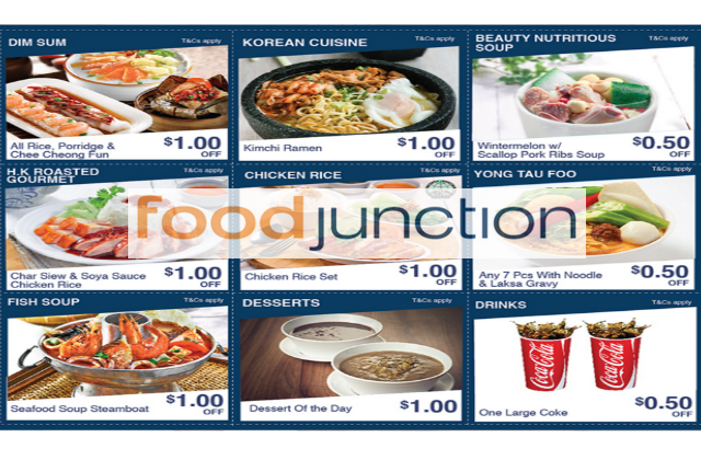 Food Junction Mobile Coupons For United Square Till 29 Feb 2016