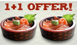 Ocean of Seafood 1 for 1 Chirashi