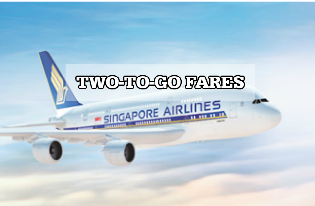Singapore Airlines Two-to-go Dec 15