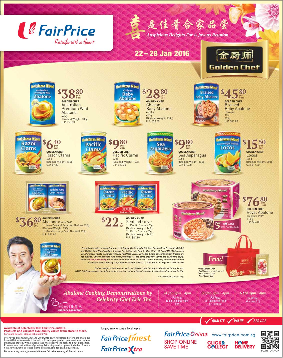 Golden Chef FairPrice