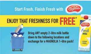 Magnolia Free Milk