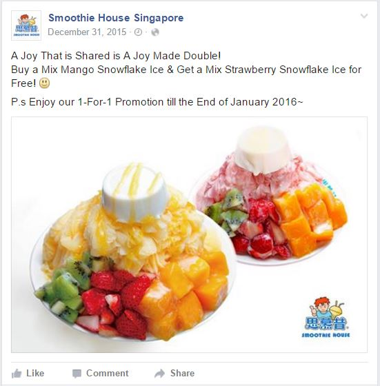 Smoothie House FB