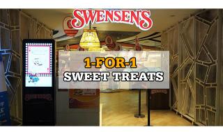Swensens 1 for 1 Sweet Treats
