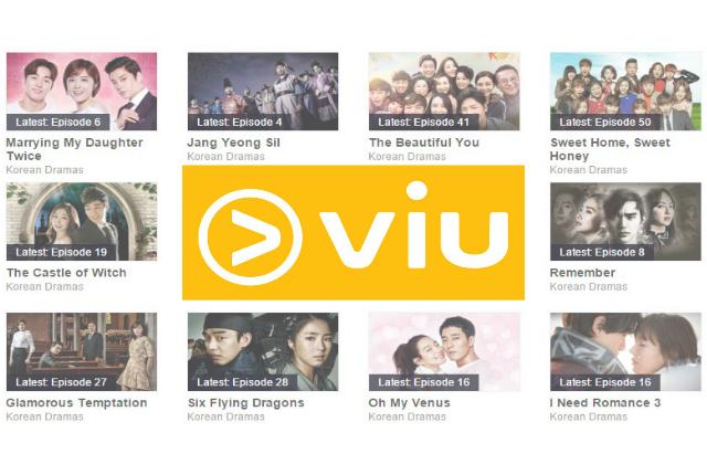 Viu: Free Korean Drama & TV Shows in Singapore (From 11 Jan 16