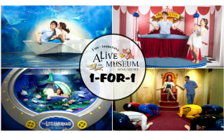 ALIVE MUSEUM 1 for 1