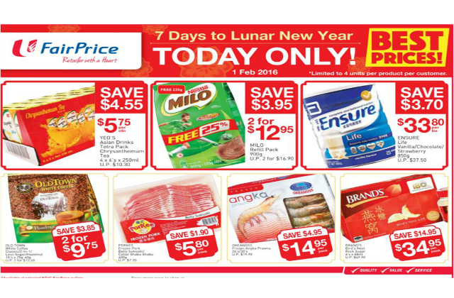FairPrice: CNY Countdown - DAY 3: Offers on Yeo's ...