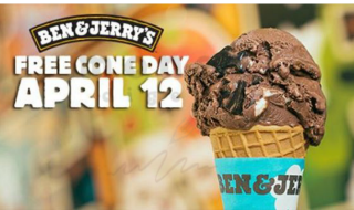 Ben & Jerry Free Cone Day 2016