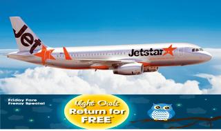 Jetstar Return for Free Featured
