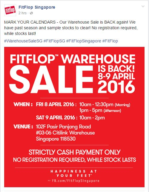FitFlop Singapore FB