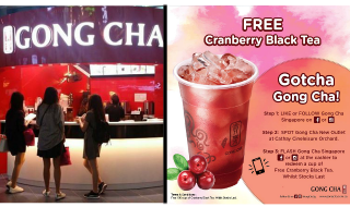 Gong Cha Cranberry Black Tea Featured