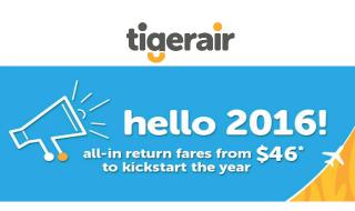 Tigerair Promo Fares 46