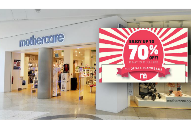5564f2c172afd Mothercare  Great Singapore Sale 2016 - Up to 70% Off