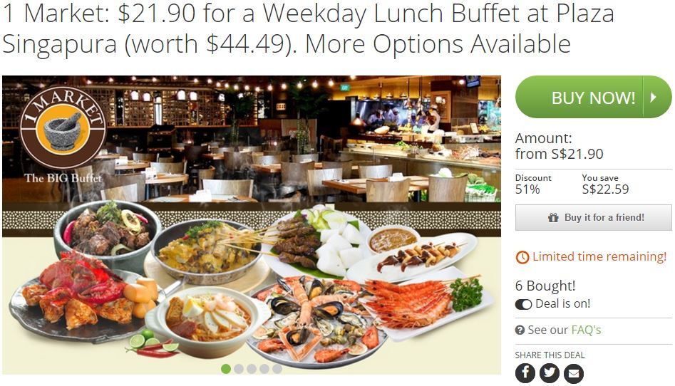 1 Market by Chef Wan Groupon