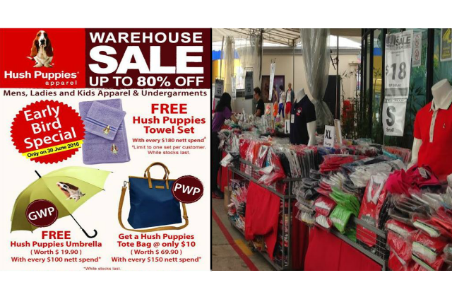 Hush Puppies  Warehouse Sale - Up to 80% OFF Apparels (1 - 10 Jul 16 ... 1c1588b8e0