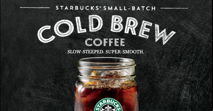 Starbucks to introduce a super smooth Cold Brew Coffee in