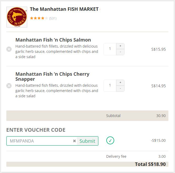 Find a promo code and click Show Code. Then click the Copy button to copy. 3. Go to your cart at the Manhattan Fruitier site and continue to checkout. Select the Promo Code box and paste your code. 4. Review your savings and finish checkout.