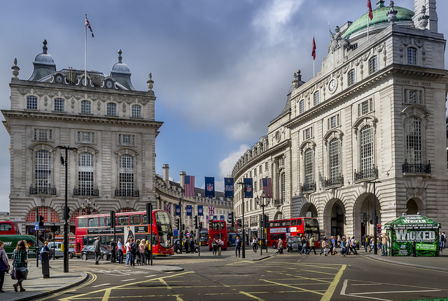 London, Picadilly Circusby Luc Mercelis, via Flickr